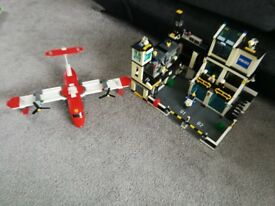 Leg Police Station & Fire Plane