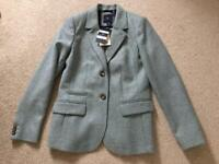 Crew Clothing - Blue Jacket - Size 10 (new with tags £180)