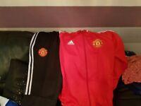 Men's xl Manchester United tracksuit