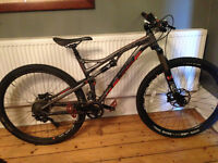 Whyte T129 Works 2015 Mountain Bike, medium, just over 1 year old, rarely used, good condition