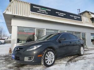 2012 Mazda MAZDA6 V6,SUNROOF,ALLOYS,FOG LIGHTS,bluetooth,LOADED