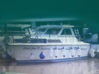 Princess 33 for sale excellent condition, twin engines, 6 berth, shower, fridgeTelevision x 2