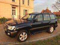 2004 Toyota Land Cruiser Amazon 4.2 TD Diesel FSH, HPI Clear, Good Runner, Bargain Sale 5 Speed Auto