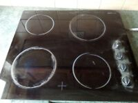 Electric hob used