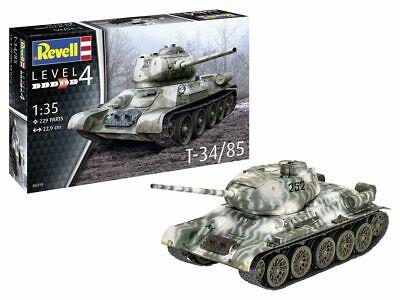 Revell 03319 Russischer Kampfpanzer T34/85 Plastik Modellbausatz 1:35 NEU