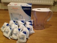 Brita Marella Jug and 11 maxtra filters with box
