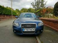 2007. Audi A6 S Line. 2.0 Diesel. Automatic. 7 Speed. Top spec. F/S/History