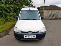 NO VAT. Vauxhall Combo 2000 CDTI, 1 Owner, 107,000 Miles,Full history,mot11/5/18,TEL-07477651115.