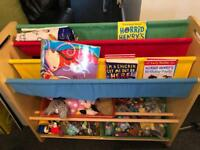 Book and toy rack