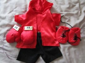 Build A Bear - Complete Champion Boxer Outfit