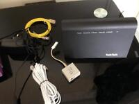 TalkTalk wifi router and modem for sale in mint condition