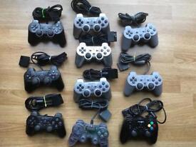 PlayStation 2 Controller job lot. Ps2. Ps1