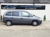 Vauxhall zafira 1.6 2004 7 SEATER!