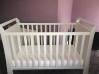 Mamas & Papas white cot