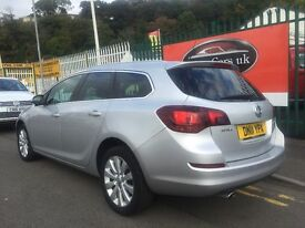 2011 11 Vauxhall Astra 2.0 CDTi 16v SE 5 Dorr Estate Turbo Diesel Automatic 1 Owner