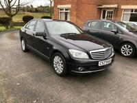 2008 Mercedes-Benz C220 Elegance CDI, One Owner From New, Long MOT, Great Spec £2995