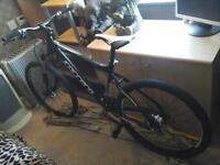 CARRERA VULCAN MOUNTAIN BIKE 27 INCH WHEELS 24 GEARS HYDRAULIC BRAKES LOCK OF FORKS EXCELLENT CON