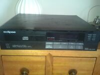 Eclipse CD101 CD player and speakers