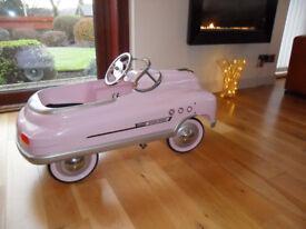 "Child's Car ""Comet Super Sport"" Metal Pedal Car"