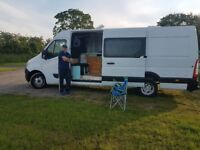 Full times Camper van Dweller Couple Living looking for cheap Land/pitch