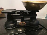 Cast Iron Vintage Kitchen Scales