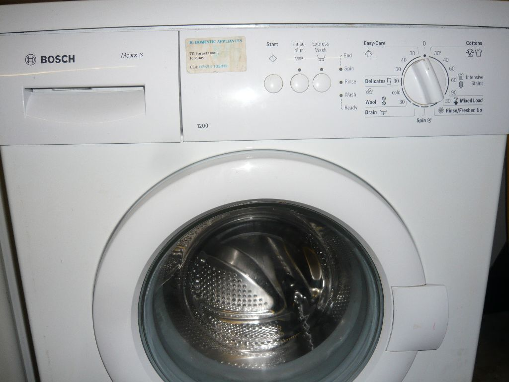 bosch maxx 6 washing machine in torquay devon gumtree. Black Bedroom Furniture Sets. Home Design Ideas
