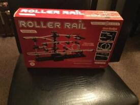 NEW GIFTS (ROLLER RAIL SET AND VELOCITY RC HELICOPTER)