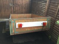 Trailer in good working order. Hatherley Cheltenham