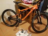 New Kona Precept 120 2016 Mountain Bike