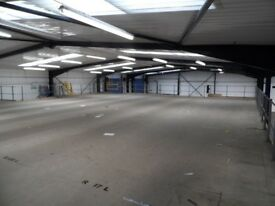 MEZZANINE FLOOR 25M X 15M WITH STAIRS DISMANTLED. REDUCED( STORAGE , PALLET RACKING )