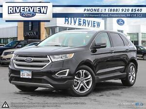 2016 Ford Edge Titanium 1.9% Financing!!! Free Extended Warranty