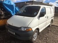 Toyota Hiace diesel spare parts available