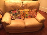 COMPLETELY FREE LEATHER 3 & 2 seater sofas for pick up only in Croydon area