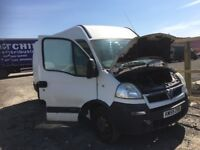 Vauxhall movano spare parts available breaking mwb high roof