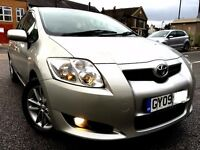 2009 TOYOTA AURIS TR STOP START 1.3 VVTI, EXCELLENT CONDITION, PART EXCHANGE WELCOME