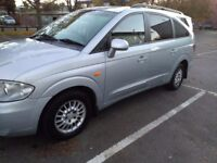 Ssangyong Rodius 2.7 Diesel Automatic, 12 months MOT.Mercedes engine HUGE 7 SEATER. HPI CHECKED
