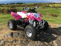 Polaris outlaw 90 qaud bike 2014 great little bike