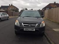 HONDA CRV AUTOMATIC MOT AND TAX £1,950