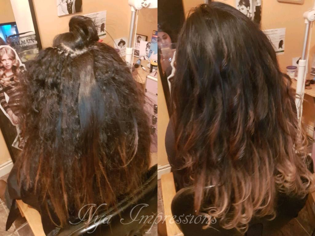 Manchester Hair Extensions Braids Tape Ins Weaves La Weaves
