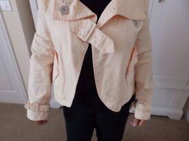 """Criminal"" Brand Lady's 100% Cotton Jacket Size M"