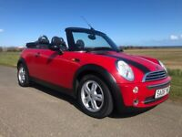 2006 MINI CONVERTIBLE 1.6 PETROL 12 MONTH MOT FULL SERVIVE HISTORY 93,000 MILES FROM NEW