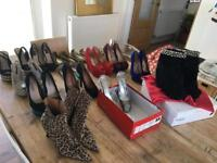 Ladies shoes ... 15 pairs of shoes