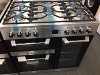 **JANUARY SALE** New Graded LEISURE CS90F530X 90cm Range Cooker - Stainless Steel RRP £1099.00