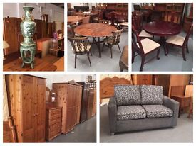 ** SOME FURNITURE, CHAIRS, TABLES & SOFAS FOR SALE **