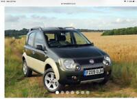Wanted Fiat Panda 4x4 Cross, either Multi-jet to Twin-air, 2008 - 2012, private buyer