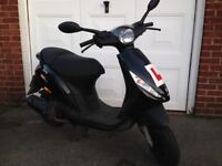 piaggio zip 2t 50cc moped / scooter