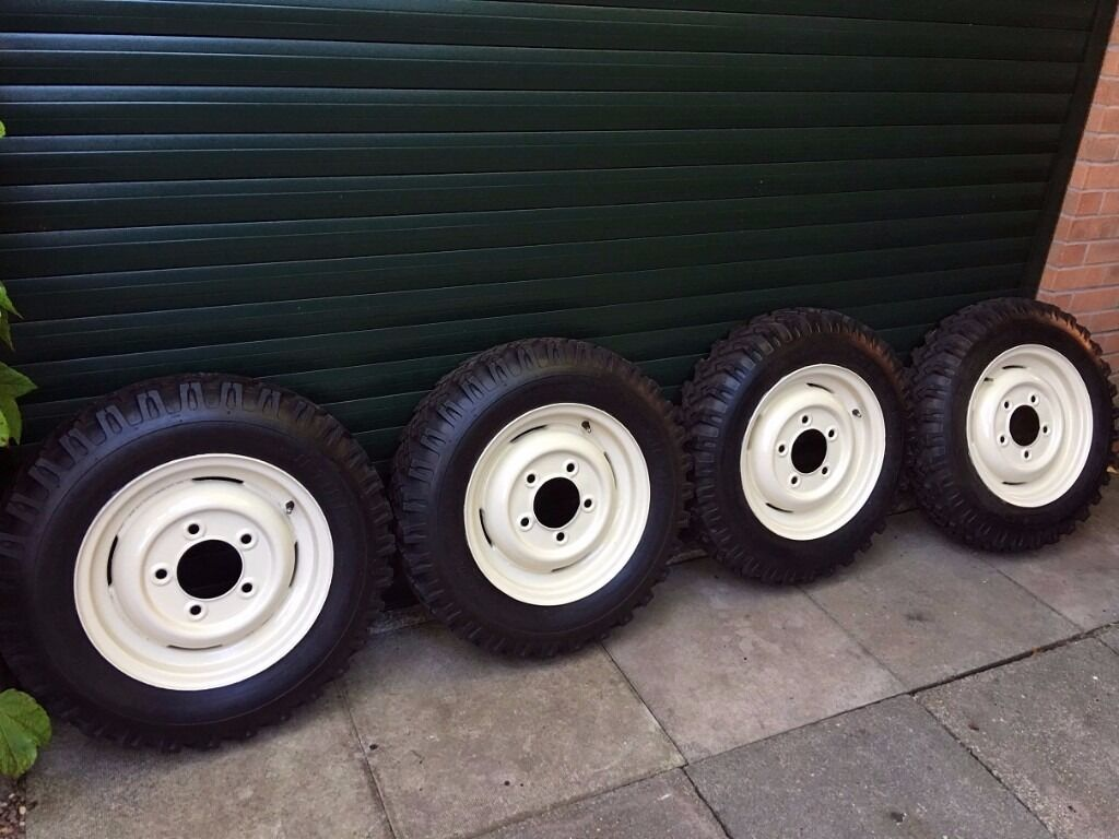 Land Rover Series 1 Series 2 New Tyres Amp Wheels In