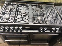 PROFESSIONAL RANGEMASTER LEISURE 101 GAS COOKER 3 GAS OVENS 1 HALOGEN HOT HUBS...FREE DELIVERY