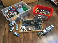 Lego assorted city & police