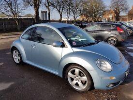 VW Volkswagen Beetle 2007 1.9TDI Light Blue 107300 Miles Fully MOT & TAXED Till Dec 2017
